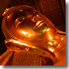 The Reclining Buddha in the