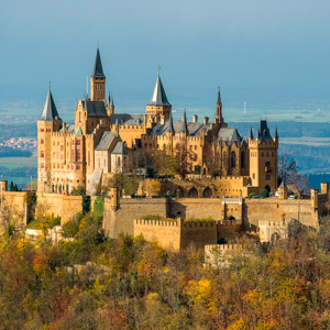 Hohenzollern Castle. (Source: A. Kniesel)