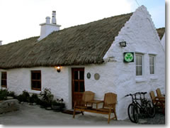 "The shamrock symbol of quality appears on all officially approved B&Bs, including this thatched hut named after the 1934 movie filmed here, ""Man of Aran."" It's a fanstastic getaway on the isle of Inishmor, famed for its thick wool sweaters, but be sure to request when booking that a rental bike be delivered for you; otherwise it's a five-mile walk (or €5 minibus ride, if you can bum one) back into the main town"