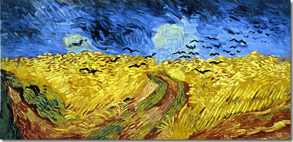 Vincent van Gogh, Wheatfield with Crows (1890), Van Gogh Museum, Amsterdam