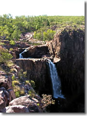 A camp beside 17 Mile Falls is the highlight of Australia's Jatbula Trail.