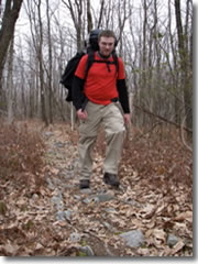 David Blais, on his first day backpacking ever, begins to rethink his summer plans to hike the entire Appalachian Trail