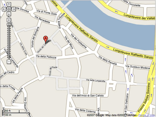 Google Map of Rome