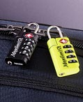TSA-approved travel locks