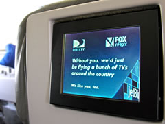 Jetblue may be a cheap ticket, btu the service is top-notch, including leather seats and your own personal DirectTV screen