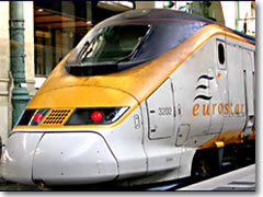 the Eurostar trains make high-speed rail connections to Italy a snap