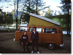 23bf103fb4 Italy in a campervan. Camping is a great way to see Italy